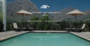 Webseite Dekraal Estate Stellenbosch Südafrika